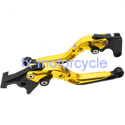 Fold Extend Brake Clutch Levers For Yamaha MT 125 2007-2015 08 09 10 11 12 13