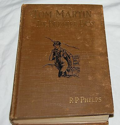 Vintage Tom Martin The Breaker Boy Book Phelps 1926 Illustrated USA Rare