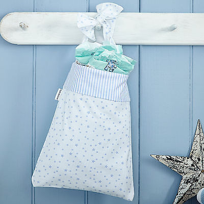 Clair De Lune Stars & Stripes Blue Cot Pocket