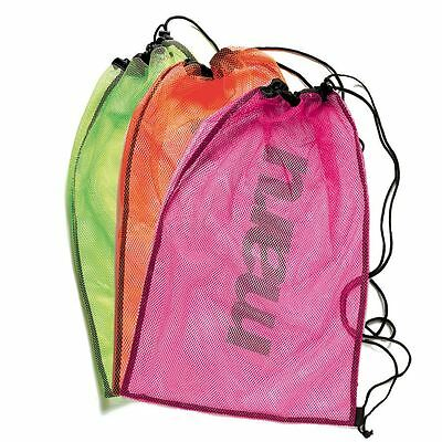 Maru Drawstring Mesh Equipment Swimwear Pool Bag Swimming Gym New