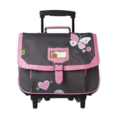 Tann's Cartable A Roulettes Collector Butterfly - 2 Com
