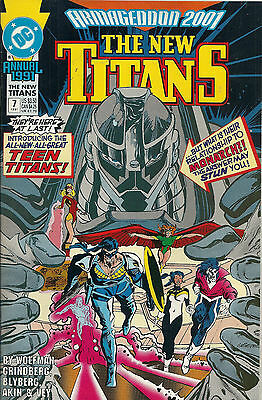 New Teen Titans Annual  #7   NM-   (Vol 2)