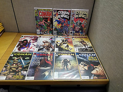 Large lot of 28 Dark Horse and Marvel Conan Comics The Cimmerian #0-7, Near Mint