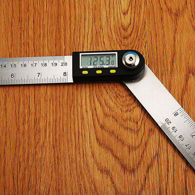 Hotsale 2 In 1 Digital Ruler Protractor 360 Degree Electronic 200mm Angle Finder
