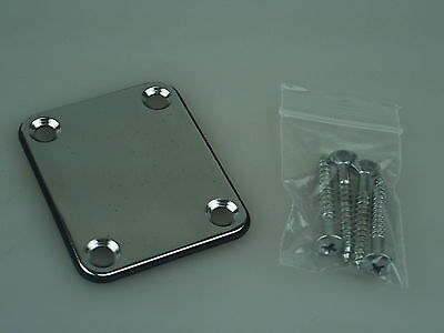 USED Wesley ST-01 Strat Neckplate Neck Plate w/screws ST01