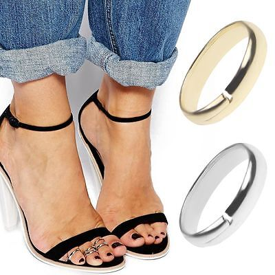 1pcs GOLD Celebrity Women Stylish Simple Toe Ring Adjustable Foot Beach Jewelry