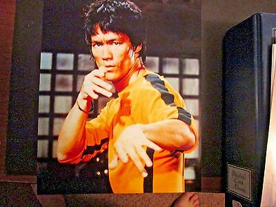 Glossy 8x10 Photo  Bruce Lee  Color  #2