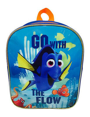 Disney Pixar Finding Dory Backpack School Junior Bag Children Kids Blue Nemo