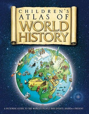 The Children's Atlas of World History, Adams, Simon Paperback Book The Cheap