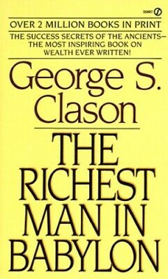 The Richest Man in Babylon by Clason, George S. Paperback Book The Cheap Fast