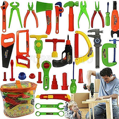 Children Early Learning & Education Simulation Repair Tools 34pcs/Set Fixing Toy