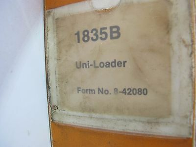 Case 1835B skid steer uni-loader service manual