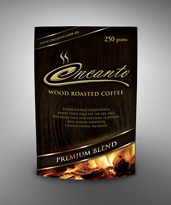 AWARD WINNING 2014 Encanto Premium Wood Roasted Coffee Beans 5x 1kg
