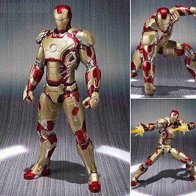 S.H. Figuarts Iron Man 3 Mark MK XLII 42 action figure Bandai (100% authentic)