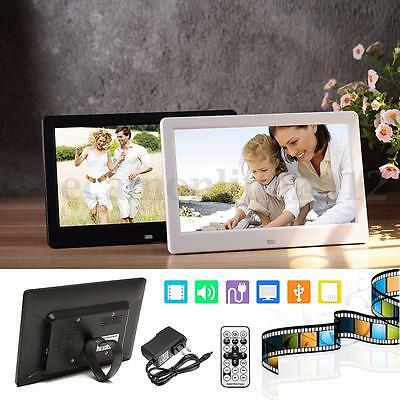 10'' HD TFT-LED Screen Digital Photo Frame MP4 Player + 2G Memory Card + Remote