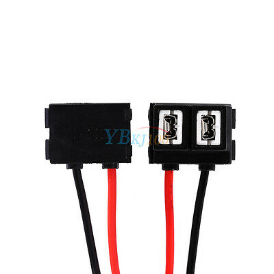 2x 12/24V 2 Pins Headlight Holder Connector Plug Wire Socket For H7 499 477 Bulb