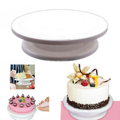 DIY Cakes Decoration Turntable Icing  Kitchen Rotating Round Shaped Cake Stand