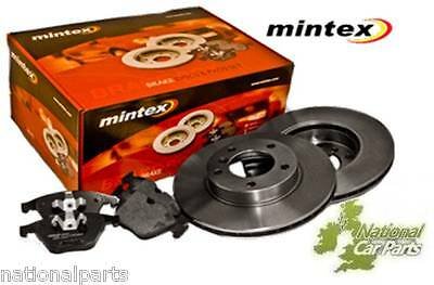 Brand New Mintex Rear Brake Disc And Pad Kit - MDK0184