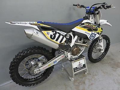 Husqvarna FC450 2014 with only 20 hours from new MINT original condition 496