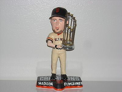 MADISON BUMGARNER San Francisco Giants Bobble Head 2014 WS Champs Trophy MLB New