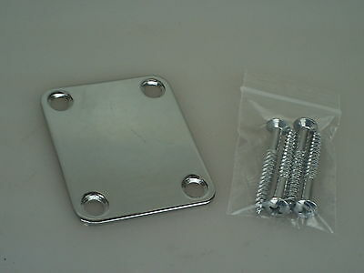 2003 Axl Player Deluxe FAT Strat Neckplate Neck Plate w/screws 1335