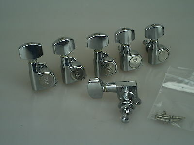 2003 Axl Player Deluxe FAT Strat Tuners Machineheads w/screws 1335