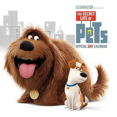 The Secret Life of Pets Calendar 2017 Official Merchandise