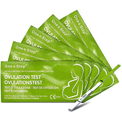 One Step 50 Ovulation - fertilité Bandelettes Test 20mIU Maison Urine Kit
