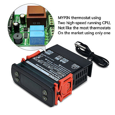 110V All-Purpose Digital Cooling&Heating Temperature Control Controller Thermost
