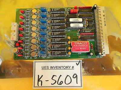 Gespac GESDAC-2B-9821 DAC PCB Card ASM 03-322712A02 Epsilon 3000 Used Working