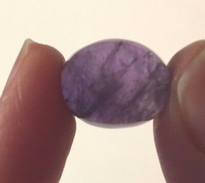 AM30 AMETHYST 9Ct 100% NATURAL Untreated OVAL Cabochon Gemstone USA Seller