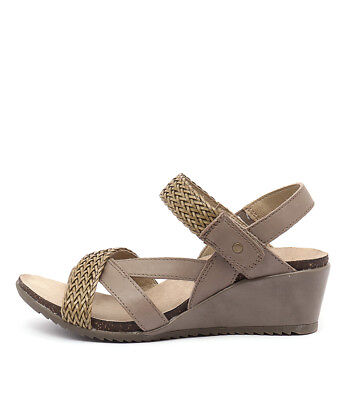 New Planet Paloma Pl Taupe Womens Shoes Casual Sandals Heeled