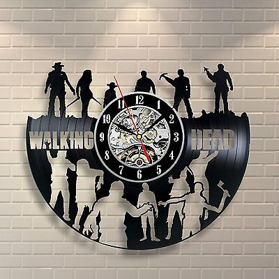 The Walking Dead_Exclusive wall clock made of vinyl record_GIFT