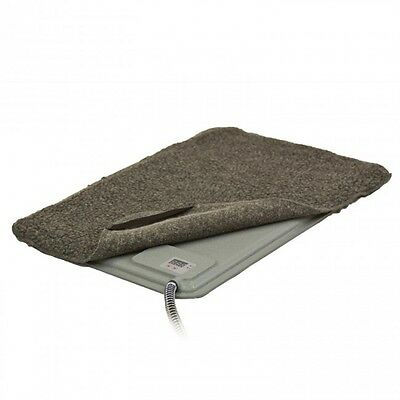 K&H Deluxe Lectro-Kennel Heated Dog Pet Cat Pad w/ Temperature Control Whelping