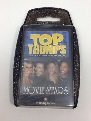 Movie Stars Top Trumps Card Game from 2003 - New & Sealed