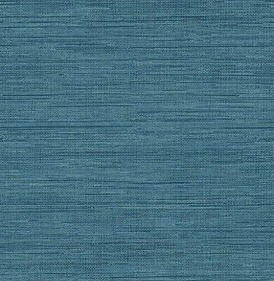 Brewster Wallcovering Co FD23286 Sea Grass Blue Faux Grasscloth Wallpaper,