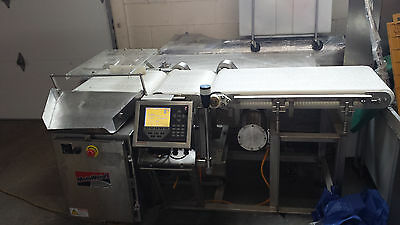 RICE LAKE CHECKWEIGHER With Automatic Reject and Conveyor 920i-5A