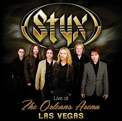 Styx - Live At The Orleans Arena Las Vegas [CD New]