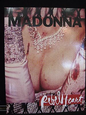 Madonna Rebel Heart Tour Soft Cover Book