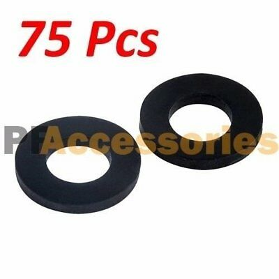 "75 Pcs 1"" inch OD O-Ring Hose Gasket Flat Rubber Washer Lot for Faucet Grommet"