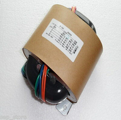 380W R-CORE Transformer for amplifier AC220V 40V*2+15V*2 L169-70