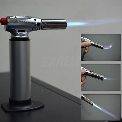 Butane Micro Blow Torch Gas Torch 1300℃ Burner Soldering Flame Cook