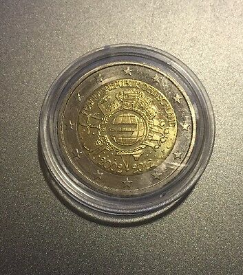 2012 Germany Commemorative 2 Euro Coin (10th Anniversary Of The Euro)
