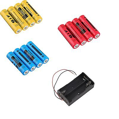 18650 3.7V 12000mAh Rechargeable Li-ion Battery Batteria LED Torch Flashlight SW