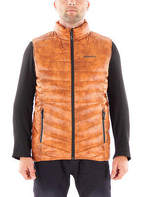 Brunotti Bodywarmer Vest Quilted Vest Magnifico brown Collar windproof