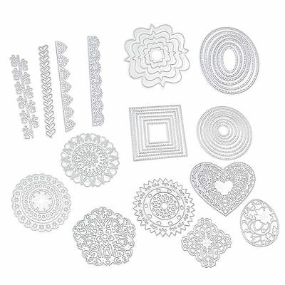 Various Cutting Dies Stencils DIY Scrapbooking Embossing Album Paper Card Decor