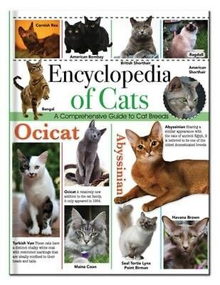 Encyclopedia of Cats by Hardcover Book