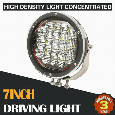 7INCH 1800W CREE LED Driving Light Spot Flood Beam Combo Offroad REPLACE HID 4x4