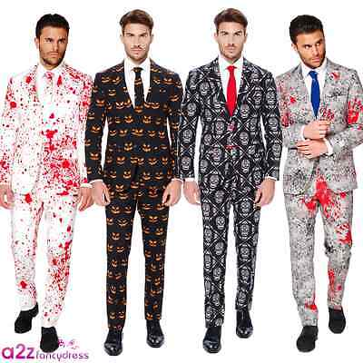 Mens Halloween Suit Adult Fancy Dress Costume Opposuits Party Horror Outfit