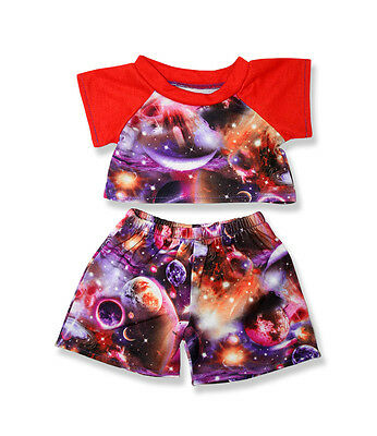 Clothing fits Build a Bear Plush Cosmic Planet Pyjamas pjs teddy clothes